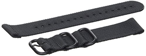Suunto Unisex's Traverse Alpha Textile Strap Accessories, Black, One Size