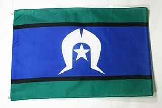 Torres Strait Islands Flag 3' x 5' - Australia - Torres Strait Islander Flags 90 x 150 cm - Banner 3x5 ft - AZ FLAG