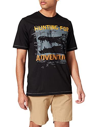 Trigema Herren 636275121 T-Shirt, schwarz, XL