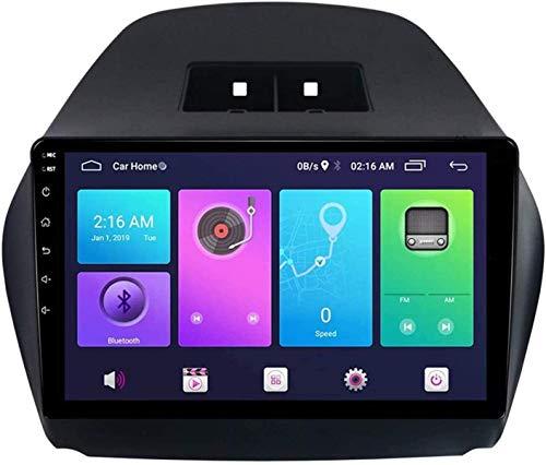 Sistema di navigazione a grande schermo Android da 10 pollici, adatto per la modifica di Hyundai Tucson IX35 per il 2010-2015, il navigatore satellitare stereo auto, navigazione GPS host,S3
