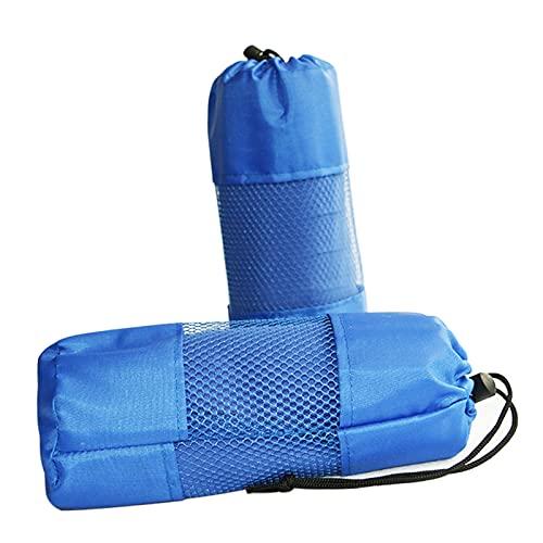 Ruiqas Toalla de playa de microfibra para deportes de sudor, toalla absorbente de agua, fibra absorbente de secado rápido, toalla de baño para viajes al aire libre