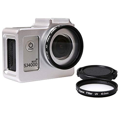 Accesorios de cámara, Estuche protector de aleación de aluminio universal con filtro UV 40.5mm y protector de lente for SJCAM SJ4000 y SJ4000 y SJ4000 Wifi + Wifi y SJ6000 y SJ7000 Deporte acción de l
