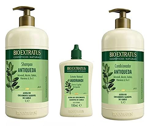 Kit Antiqueda Jaborandi 1l Bio Extratus 3 Produtos