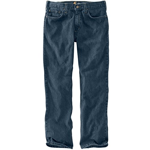 Carhartt Men's Relaxed Fit Holter Jean, Blue Ridge, 31W X 32L