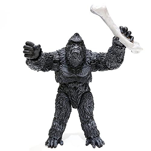 Meilai King Kong VS Godzilla Monster PVC Figura de acción de colección Modelo muñecas Juguetes decoración decoración Dibujos Animados Anime Juguete Coleccionable Regalo 16-24 CM