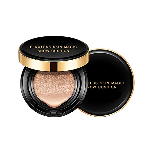 BIUBIUboom_ Perfect Skin Cushion B.B Cream Foundation Skin Magic Snow Moisturizing Makeup (B)
