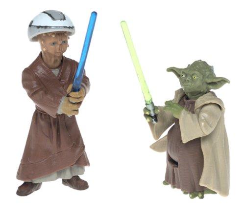 Star Wars Episode 2 Saga Yoda Deluxe MINT LOOSE COMPLETE