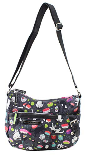 Lily Bloom Kathryn Hobo Bag (Meow We Roll)
