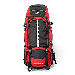 outdoor backpacker backpack Atlantis 90 + 10 - front loading backpack with front opening, large XXL backpack for travel, backpacking