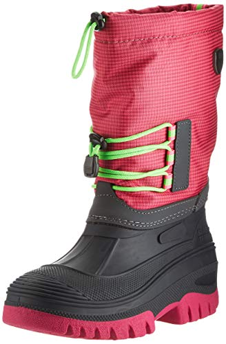 CMP Kids AHTO WP Snow Boot, PINK Fluo, 34 EU