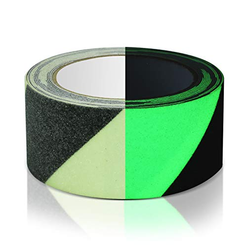ROCKSAFE Anti-Slip Glow-in-Dark Traction Tape (2 in x 16.5 feet)