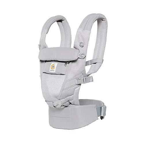 Ergobaby Adapt Cool Air–Porte-Bébés, couleur gris