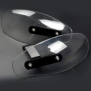 Value-Home-Tools - Motorcycle wind shield handle hand guard ABS transparent handguards For Honda MSX125 MSX300 MSX 125 MSX 300 MSX125 300 PCX 125