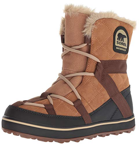 Sorel Women's Glacy Explorer Shortie Snow Boot, Elk, 10 M US