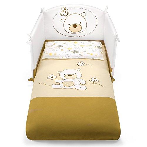 Pali Spa Poldo - Kit de cuna con 3 piezas, color beige