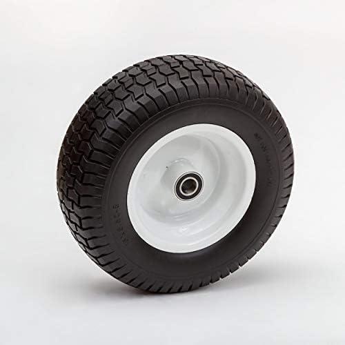 Lapp wheels 16x6 50 8 Wheel and Tire Flat Free 1 Axle Bearing 4 Hub Length product image