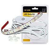 WENICE Sewing Machine Light,LED Lighting Strip kit Cold White 6500k with Touch dimmer,Fits All Sewing Machines(Plastic Blister Packaging)