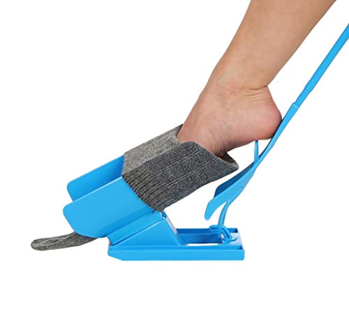 Strumpfanzieher Sockenanzieher Strumpfanziehhilfe Sockenanziehhilfe Anziehhilfe + Schuhlöffel