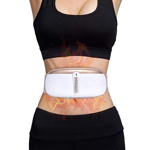 OWAYS Massagegürtel zum Abnehmen Schlankheitsgürtel Gewichtsverlustmaschine für Frauen und Männer Einstellbare Vibrationsmassag 4 Massagemodi Nicht Schnurlos Geeignet für Bauch Beine Schenkel Zurück