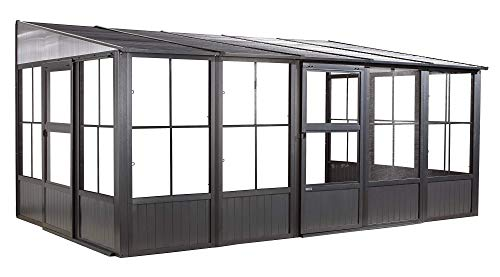 Wall-Mounted Solarium - 10 ft. x 16 ft.