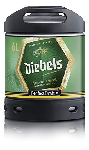 Diebels Alt Perfect Draft cerveza barril 6 litros 4,9% vol.