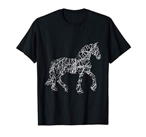 Pferd, Pferde, Geschenkidee Frauen, Männer, Mädchen, Dressur T-Shirt