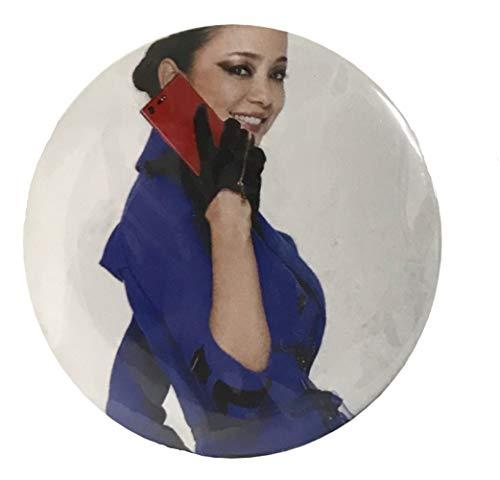 安室奈美恵 渋谷・阿倍野109 [POP UP STORE] 会場限定NTTドコモCM衣装ガチャガチャ 缶マグネット 14