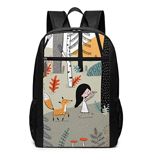 Elise Gravel Backpack Suitable for School and Outdoor 17 Inch