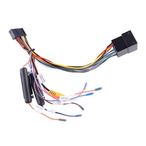 ZHUHUI YUYANGZHI Android ISO Car Stereo Radio DE Radio DE CABLEA DE Cable DE Cable CONDADOR Adaptador DE CAPTADORES Accesorios UNIVERSALES