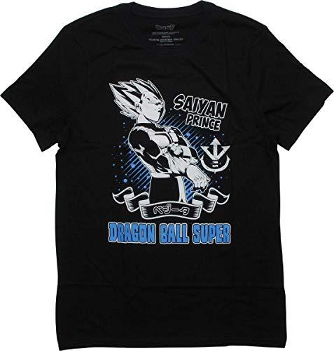 Dragonball Z Goku Super Saiyan Prince T-Shirt, Small Black