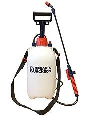 Spear and Jackson Pump Action Pressure Sprayer, 5 Litre
