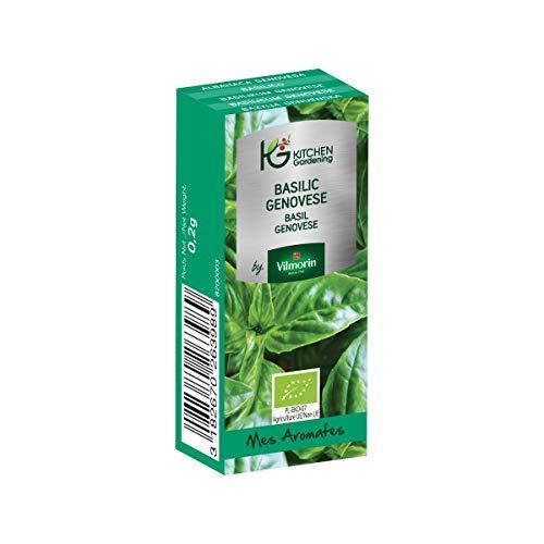 Vilmorin - Kitchen Gardening - Basilic Genovese BIO