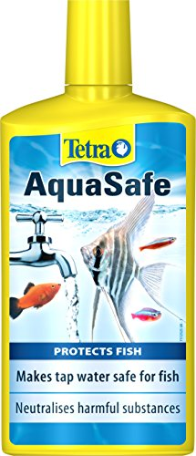 Tetra AquaSafe to Turn Tap Water into Safe and Healthy Water for Fish and Plants, 500 ml
