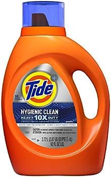 Tide Clean Heavy 10x Duty Liquid Laundry Detergent 59 Loads, 92 Fl Oz