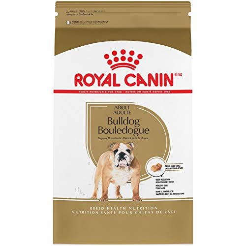 Royal Canin Bulldog Adult Breed Specific Dry Dog Food, 30 lb. bag