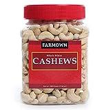 Plain whole Cashew nuts - Grade W320 Regular Size Cashews / Kaju Fresh & Natural No preservatives, No Additives, No Added Color. Freshly packed natural W320 Grade Plain whole Cashew nuts / Kaju Package Content : FarmOwn Plain Whole Cashew Nuts Grade ...