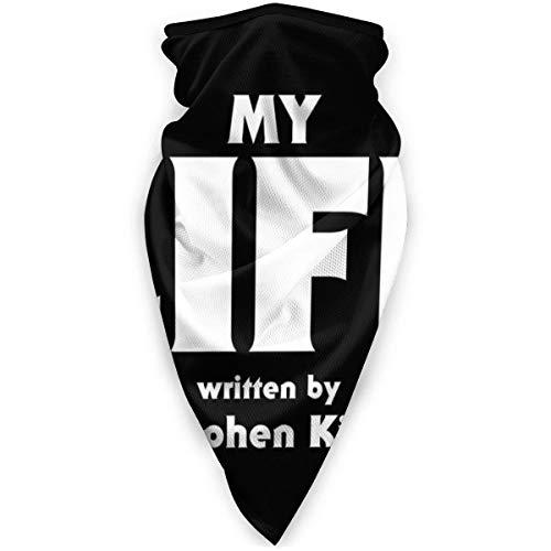 N / A My Life Stephen King máscara para el polvo, al aire libre, festivales, deportes