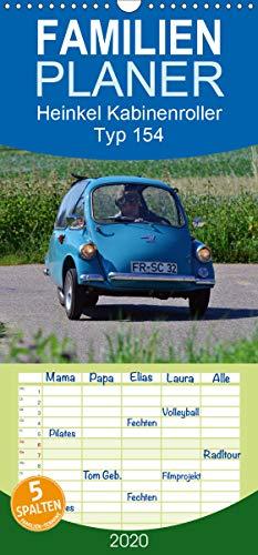 Heinkel Kabinenroller Typ 154 - Familienplaner hoch (Wandkalender 2020 , 21 cm x 45 cm, hoch): klein aber fein (Monatskalender, 14 Seiten ) (CALVENDO Mobilitaet)