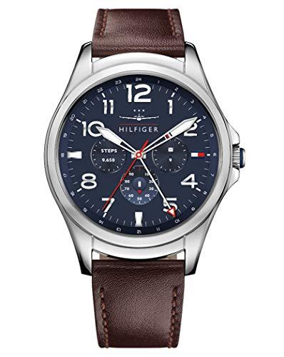Tommy Hilfiger Reloj Hombre de Digital con Correa en Cuero 1791406