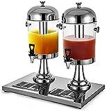 Grifo Cerveza, Dispensador de Cerveza Dispensador de cerveza con refrigerante Cerveza de acero inoxidable Dispensador de bebidas de gran capacidad para jugo frío / caliente Cerveza Hielo Hielo Abrir B