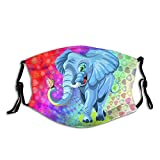 Prenda impermeable animal de las bufandas de la manera del elefante con 2 filtros para el