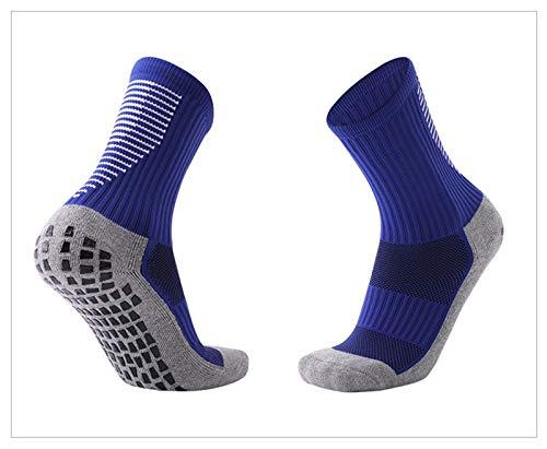Trihedral-X Calcetines de fútbol Antideslizante Hombres Transpirables Summer Spring Running Calcetines de Goma de algodón al Aire Libre Ciclismo Calcetines Deportivos Mujeres Socker Socks