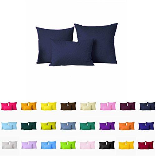 "Decorative Pillows Cover/Cushion Case (18""x18"", Navy Blue)"