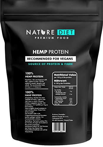 Nature Diet - Protéines de chanvre, 1kg