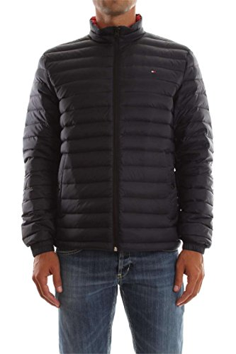 Tommy Hilfiger LW Packable Down Bomber, Blu (Sky Captain 403), Small Uomo