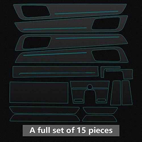 ROYAL STAR TY Láminas Protectoras Pantalla Car Styling GPS Protector Center Console...