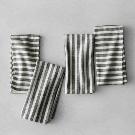 Striped Napkins (Set of 4) - Black/Cream - Hearth & Hand™ with Magnolia : Target