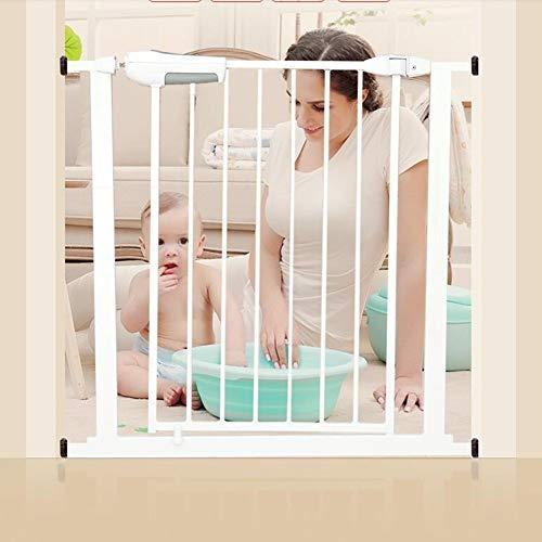 PNFP veiligheidsstore voor binnenshuis, extra breed en hoge babydeurdruk, gemonteerd instelbaar, puppen, huisdier, loopstal voor op het staand, door way, wit