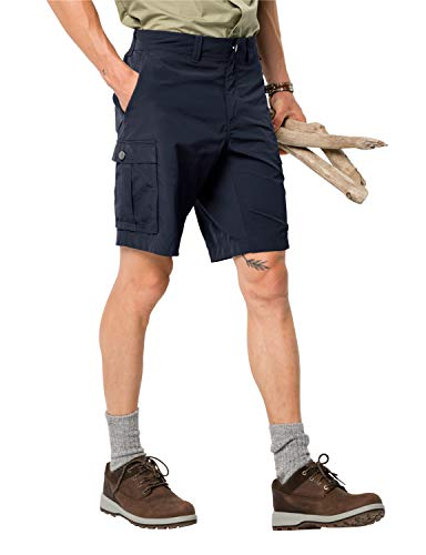 Jack Wolfskin Herren Shorts Canyon Cargo, Night Blue, 52, 1504201