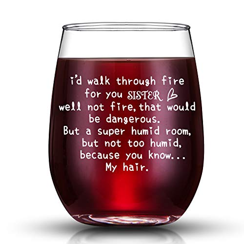 sister wine glass - 5
